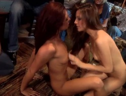 Jenna Haze and Kirsten Price are 2 kinky lesbo milfs and theyre intend to fight every other at a frat party! Theyre intend to lick every others horny little fuck holes worthy
