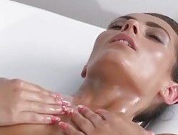 Massage Rooms Breathtaking tanned lesbians have intense sensual orgasms