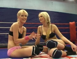 Excellent lesbian are fighting with each other ripping each cloth of their hawt bodies. Enjoy hawt Antonya and fantastic Sophie Moone fighting on the ring all nice and hawt